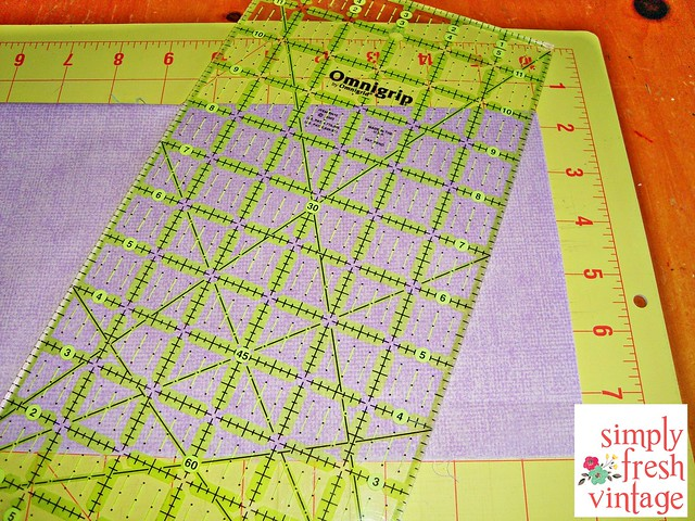 Quick & Easy Bunting ... Step 2