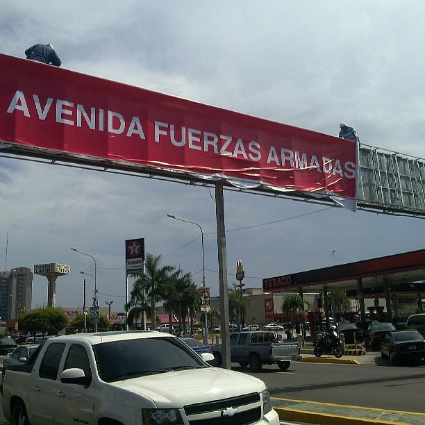 Valla Alcaldía de Maracaibo