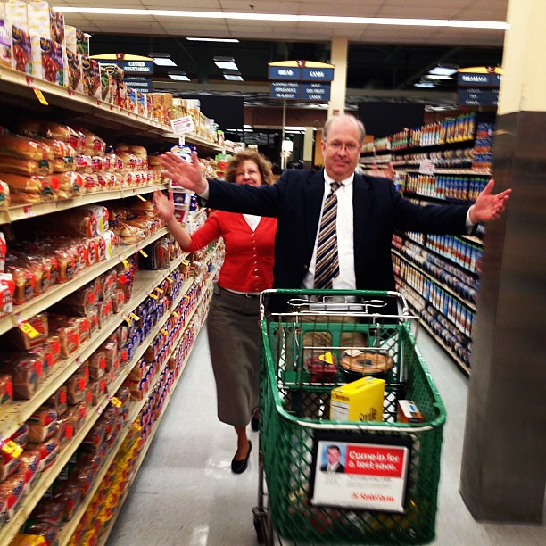I may have missed Embassy Day, but I did spend my Saturday night grocery shopping with my parents, so I still win. #BooYa