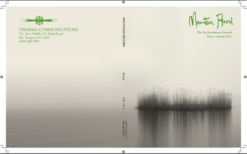 One of my photos on the cover of Mountain Record: The Zen Practitioners Journal