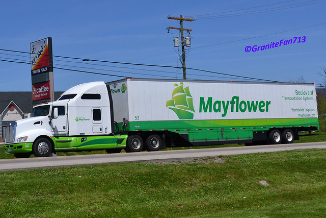 Moving Truck Companies >> Mayflower Kenworth T660   Flickr - Photo Sharing!