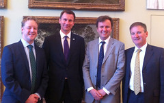 Jeremy Hunt in H&F