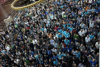 You are down there somewhere... DrupalCon Portland