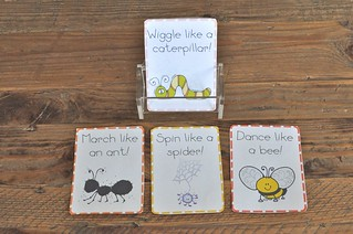 Bugs Movement Cards