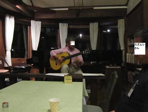 仙人さんのギター演奏/打ち上げ会 2013年5月25日2113 by Poran111