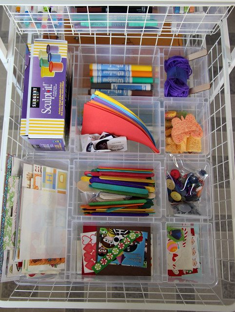 Prepping for Summer: Art Supplies Organization