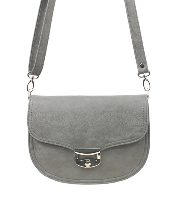 missco girl gray bag