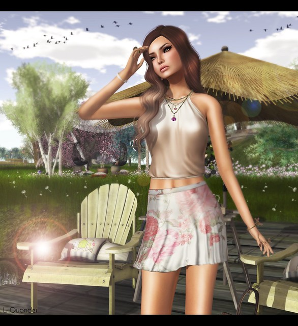 Baiastice_Lari Halter Neck Top and Didi Skirt for TLC & -Belleza- Ava Sk BBB 1 & TRUTH HAIR Candy - Browns01Fade