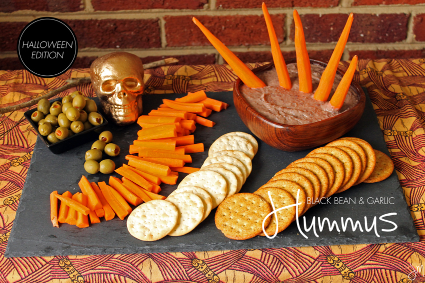 Julip Made black bean hummus Halloween5