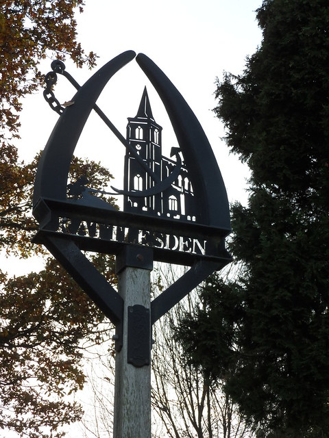 Rattlesden Village Sign