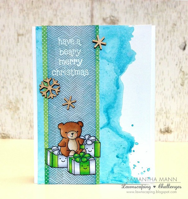 samantha mann have a beary merry christmas card 2 - ls, watermark