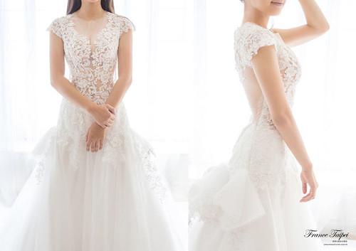 高雄婚紗推薦_高雄法國台北_新娘白紗款式 (4)