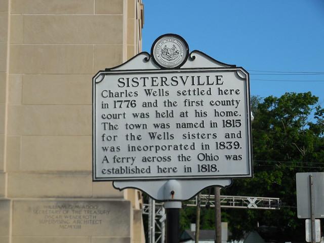 Sistersville Historic Marker