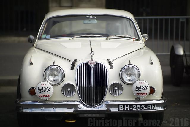 Jaguar 3.8 MkII ~ la traversee de Paris estivale 2016
