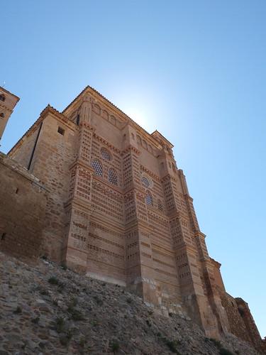 Iglesia de Nuestra Señora del Castillo - Fachada posterior
