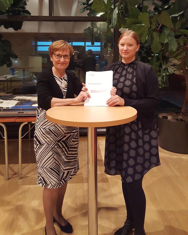 Sirpa Hertell, Henna Partanen ja ilmasto-ohjelma
