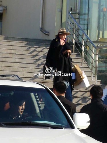 Big Bang - Harbin Airport - 21mar2015 - Seung Ri - Aws- - 0