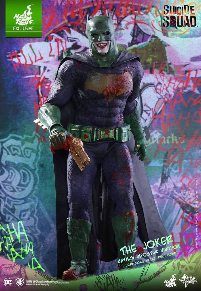 史上最花俏的蝙蝠俠來囉?!Hot Toys – MMS384 – 自殺突擊隊【偽蝙蝠俠:小丑】The Joker Batman Imposter Ver. 1/6 比例人偶作品