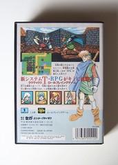 Shining Force Mega Drive case back