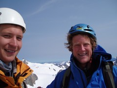 Greg and Mike on the summit Image