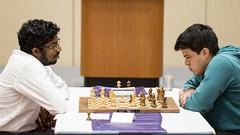 20161008_millionaire_chess_R6_1434 Adhiban Baskaran Eduardo Iturrizaga