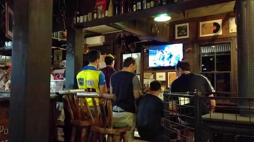 Pub night - Footy Grand Final.