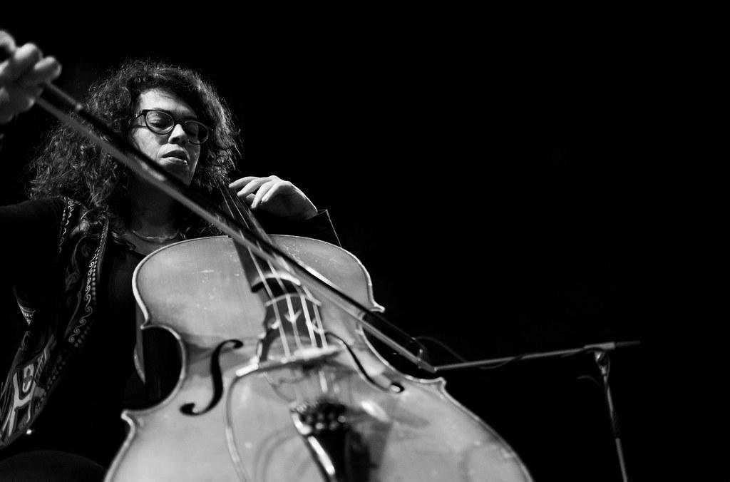 Martha Gonzales on cello