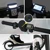 354-HIT-001 Hitic ES-01 電動鋁合金滑板車R5001輕量7.8kg5吋實心胎LG鋰電池-消光黑
