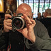 Samer and his funky new lens by Kevin Baird