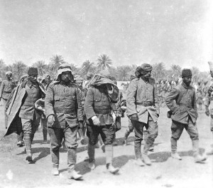 Captured Turkish troops in Mesopotamia