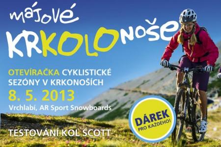 Krkonoše Regioncard a Sportmall.cz otevírají cyklistickou sezónu májovým KrKOLOnošením