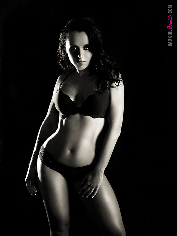 Fitness Boudoir Photograph