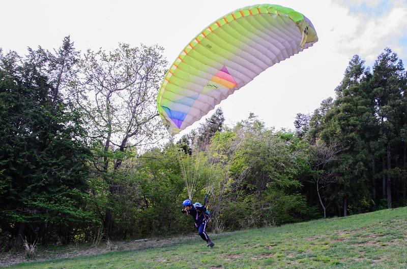 Trial Paraglider