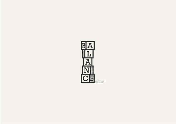 espacio negativo y positivo en logotipos