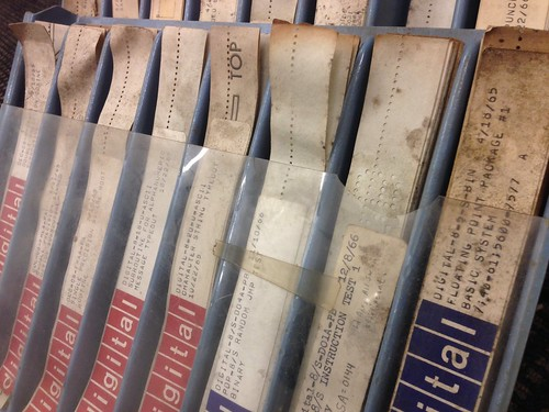 DEC papertape library