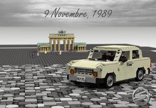 Trabant 601 - 9 Novembre, 1989