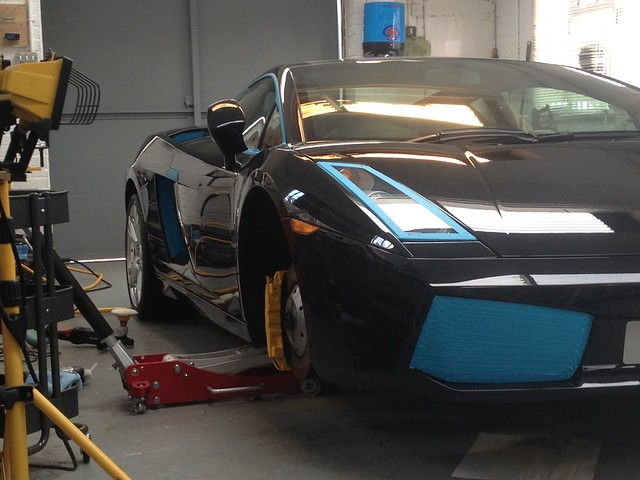 Lamborghini Gallardo Full Correction Detail Plus Calliper Re-Paint