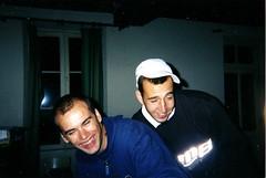 Moi & Adrien (juillet 2001)