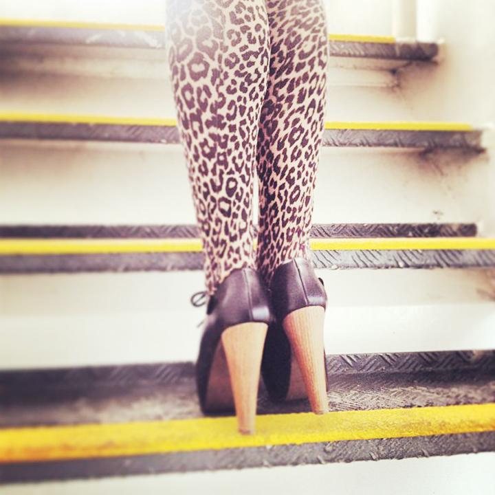 leaopard legs