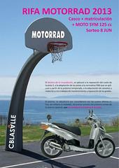 2012-13 Poster Rifa Motorrad Junio 2013