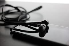 communication device, headset, gadget, headphones, black,