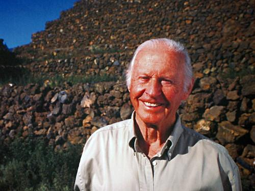 Thor Heyerdahl on Tenerife