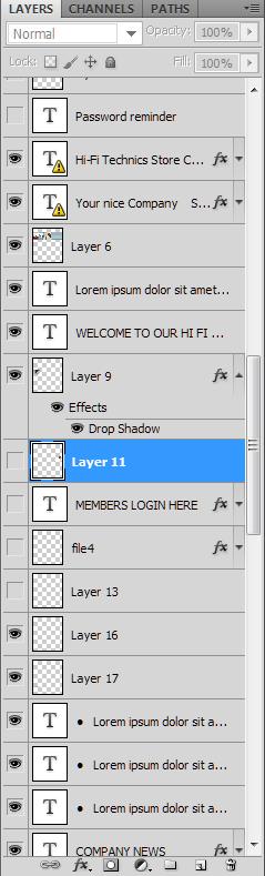 many-layers