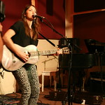 Mon, 03/06/2013 - 8:27pm - KT Tunstall with an audience of WFUV Members, June 3, 2013. Hosted by Carmel Holt. Photo by Laura Fedele