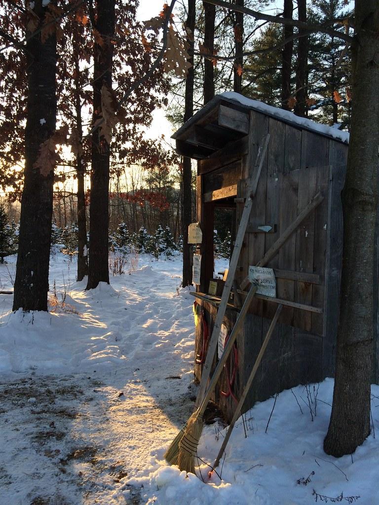 The O'Brien Family Christmas Tree farm 2014