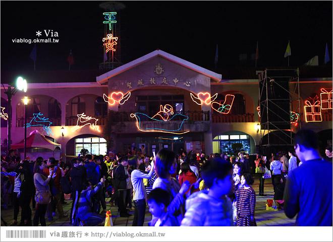 【萬金教堂】屏東萬金教堂聖誕季~3D光雕秀+耶誕地景藝術/全台最濃耶味小鎮!39