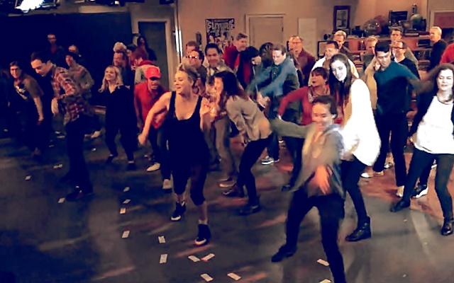 BigBangTheory Flash Mob 2014