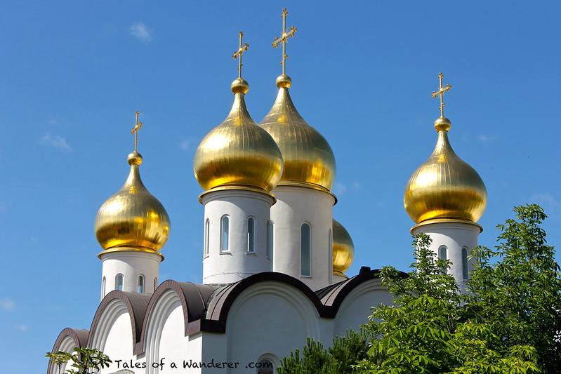 MADRID - Iglesia ortodoxa rusa de Santa María Magdalena