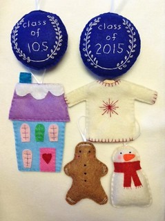 An Assortment of Holiday Ornaments