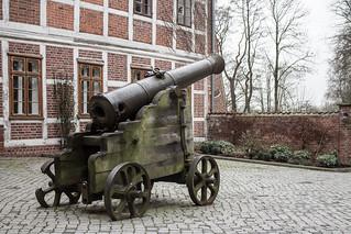 Winsener Schloss-Innenhof